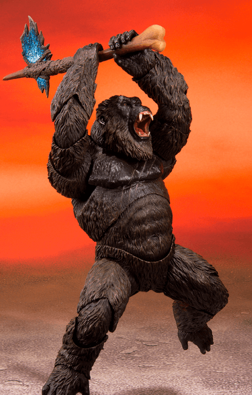Figura Kong - Godzilla Vs Kong (2021) - S.H.Monsterarts - Bandai