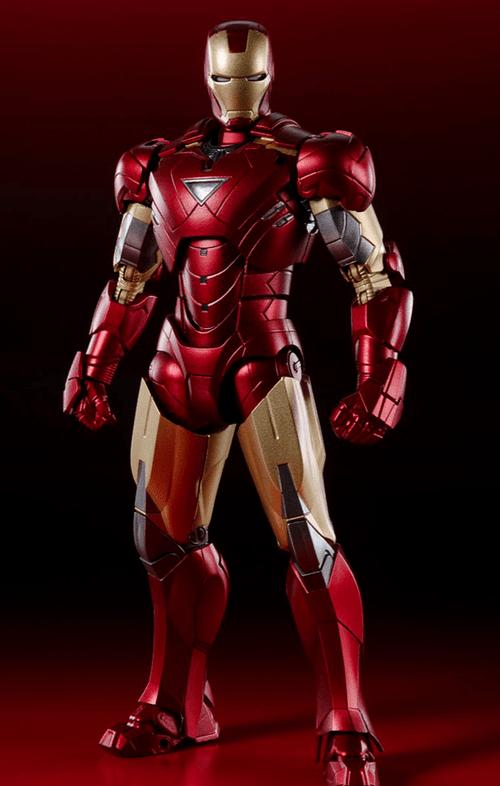 Figura Iron Man Mark 6 - Battle Of New York - Infinity Saga - S.H.Figuarts - Bandai