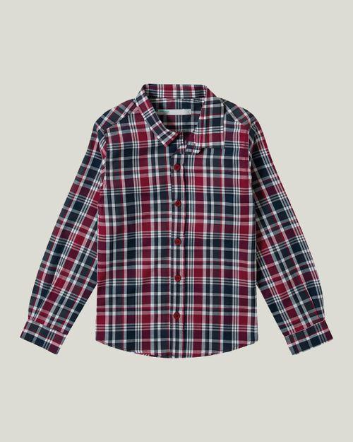 Camisa Xadrez Menino Malwee Kids