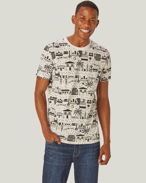 Camiseta - Malwee Kids - Festa Junina - Branco - Menino