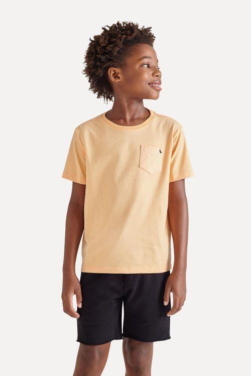 Camiseta Mini Vegas Com Bolso Reserva Mini