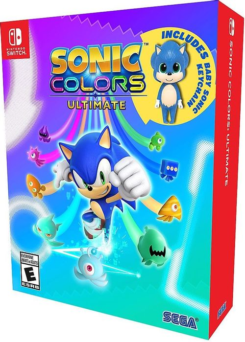 Sonic Colours Ultimate: Launch Edition  - Switch