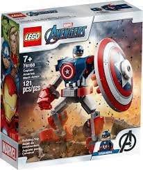 LEGO Marvel Avengers Armadura Robô do Capitão América-76168