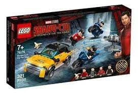 LEGO Marvel Shang-Chi Escape dos Dez Anéis