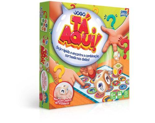 Jogo Tá Aqui - Toyster