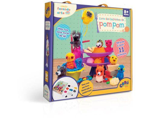 Coleção Fazendo Arte Livro dos Bichinhos de PomPom - Toyster