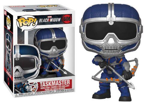Funko Pop Taskmaster 606 - Black Widow (Viúva Negra)