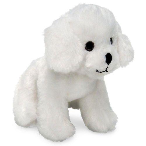 Mini Figura com Acessórios - Adotados Mochila Pet Care - Cachorrinho - Branco - Fun