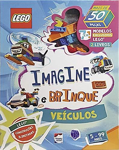 Livro - Lego Iconic - Imagine e Brinque - Veículos