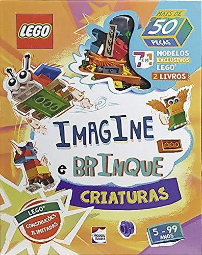 Livro - Lego Iconic - Imagine e Brinque - Criaturas