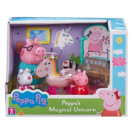 Playset Peppa e seu Amigos - Peppa e Suzy No Universo do Unicórnio - Sunny