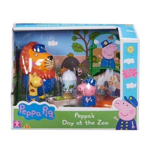 Playset Peppa e Seus Amigos No Zoológico - Sunny