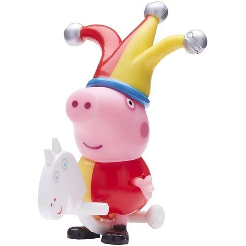 Figura Peppa Pig com Roupinhas - George Chapéu e Cavalinho - Sunny