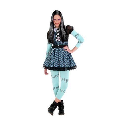 Fantasia Frankie Infantil Luxo - Monster High - Original