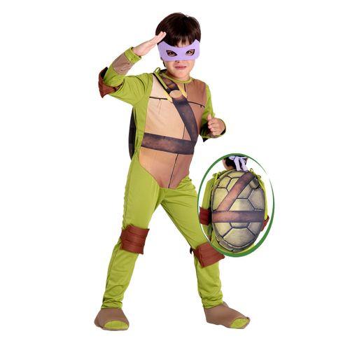 Fantasia Donatello Tartarugas Ninjas Infantil - Original