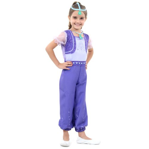 Fantasia Shimmer Infantil - Shimmer e Shine - Original