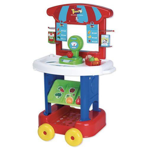 Mercadinho Infantil - Com Acessórios - Play Time - Cotiplás