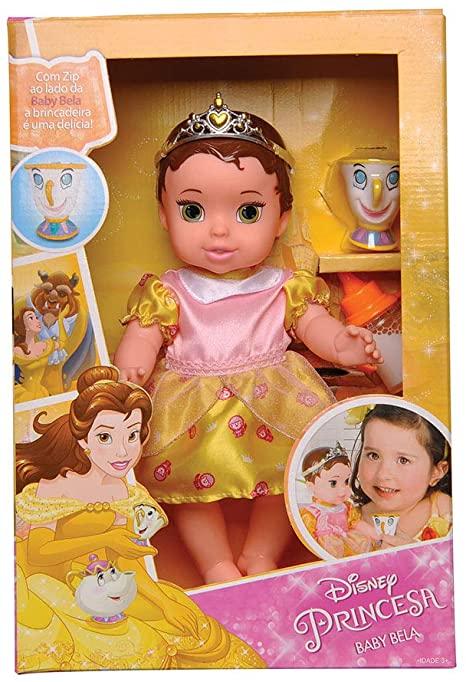 Boneca Baby - Bela - 30cm - Disney - Mimo
