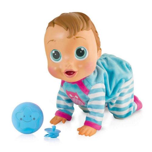 Boneca Baby Wow Engatinha Fala e Levanta - Multikids