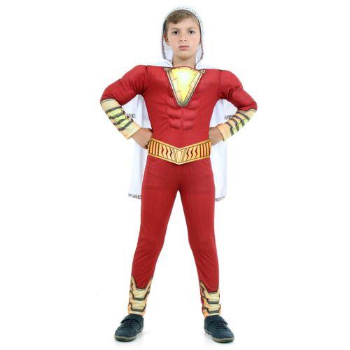 Fantasia Shazam Premium Infantil - Shazam - DC - Original