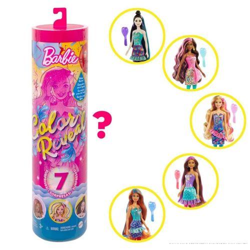 Boneca Barbie Surpresa Festa do Confete Color Reval 7 Mattel