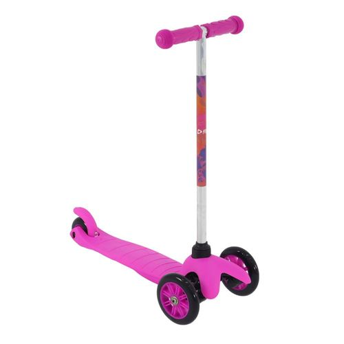 Patinete Infantil Twist 3 Rodas Rosa - Bel Fix