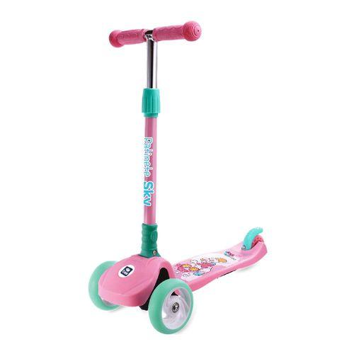 Patinete Sky Infantil Regulável Rosal - Bel Fix