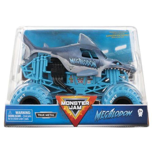 Carro Monster Jam Megalodon True Metal 1:24 - Sunny 2756