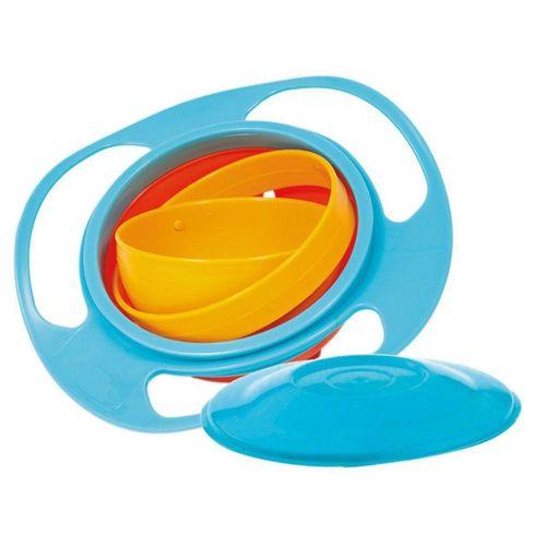 Prato Giratório Giro Bowl 360º Infantil Azul - Buba 5854