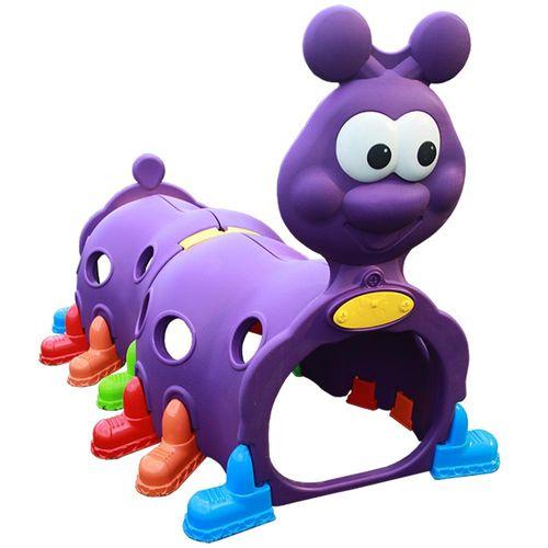 Tunel Centopéia Infantil Importway Violeta
