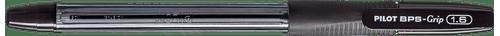 Caneta Esferográfica 1.6MM BPS-GRIP Preto Pilot - Caixa com 12 Unidades-107875