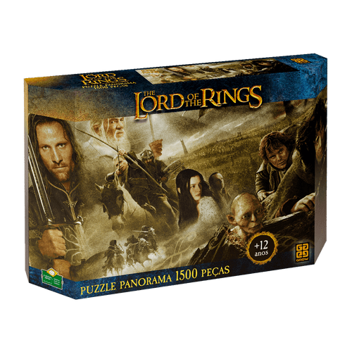 Puzzle 1500 peças Panorama The Lord of the Rings