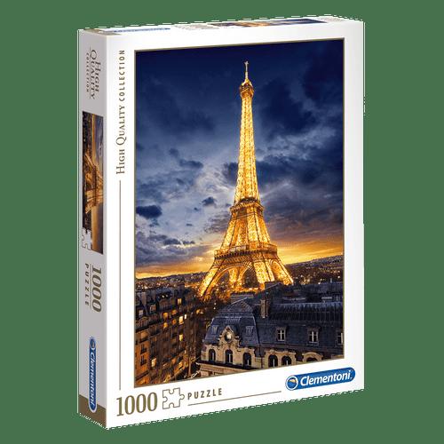 Puzzle 1000 Peças Torre Eiffel - Clementoni - Importado