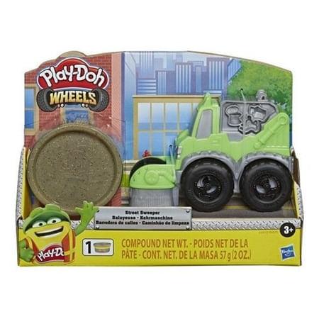 Massinha Play Doh Wheels Caminhão Limpeza- Hasbro E4575