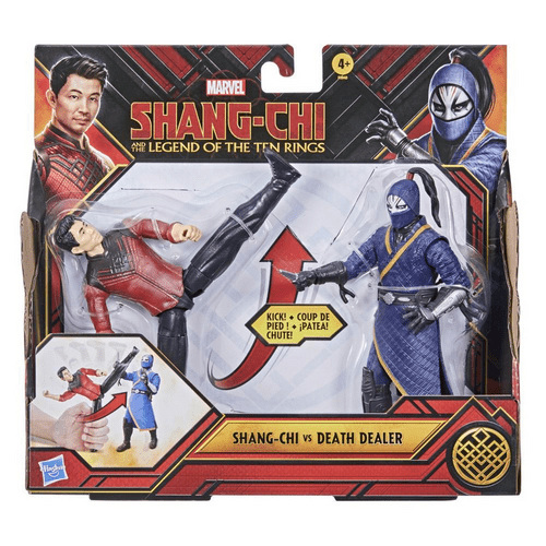 Boneco Shang-Chi And The Legend of Ten Rings - Shang-Chi vs Death Dealer