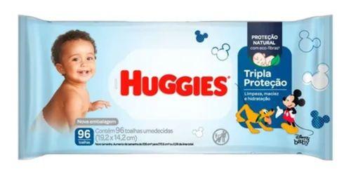 Toalhas Umedecidas Tripla Proteção Com 96 Un - Huggies