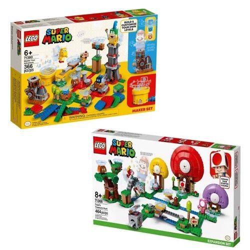 LEGO Super Mario - Domine sua Aventura - 71380 + R$ 0,06 Leve Caça Ao Tesouro De Toad