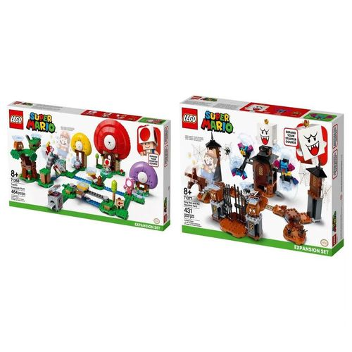LEGO Super Mario - Rei Bu e o Pátio Mal Assombrado - 71377 + R$ 0,06 Leve Caça Ao Tesouro De Toad