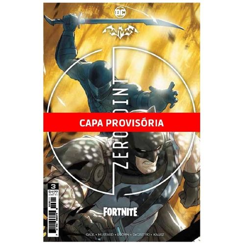 Livro Infantil - Dc Comics - Batman - Fornite : Ponto Zero 3 - Panini