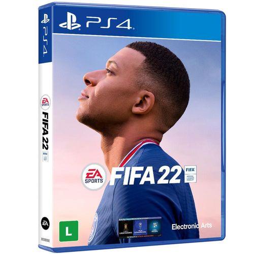 Jogo FIFA 2022 PS4 Edição Standart Mídia Física Lacrado
