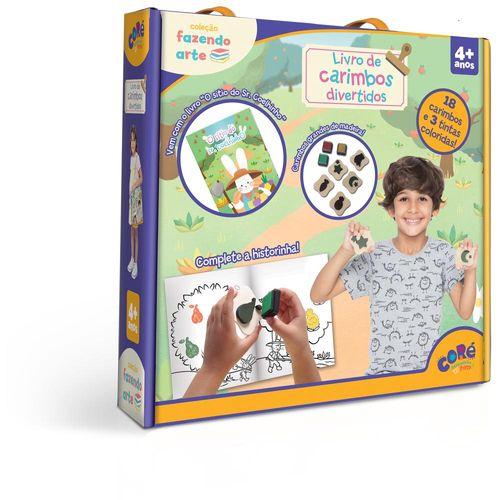 Livro de Carimbos Divertidos - Coré - Fazendo Arte - Toyster