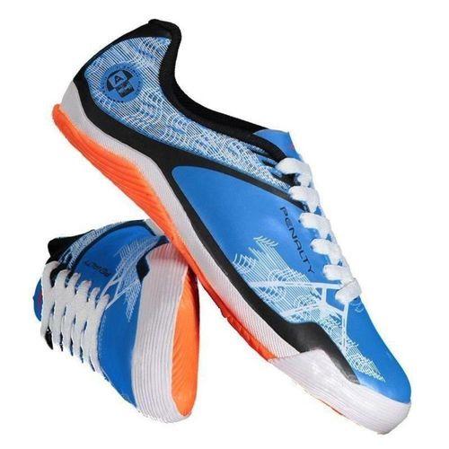 Chuteira Penalty 116120 Azul/Branco Menino Futebol