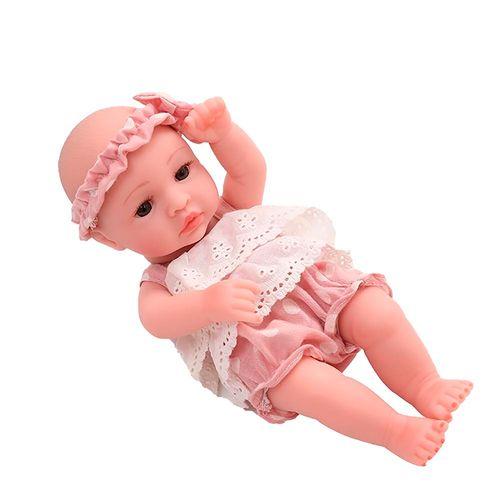 Boneca - Bebê Reborn - Laura Baby - Mini Lauren - Vinil - Asgard