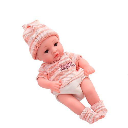 Boneca - Bebê Reborn - Laura Baby - Mini Davi - Vinil - Asgard
