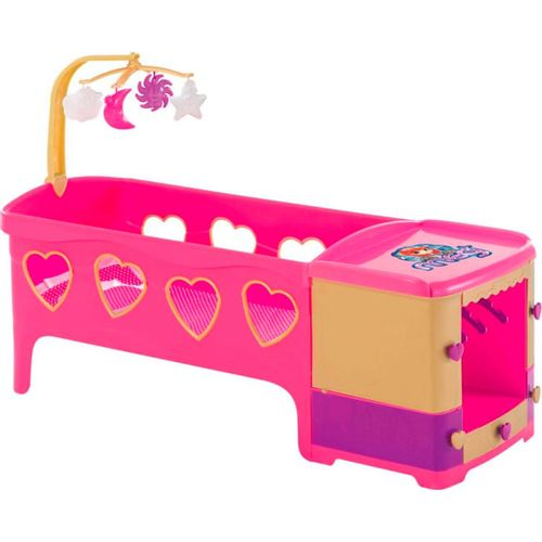 Berço para Boneca Magic Toys Princess - Meg Rosa