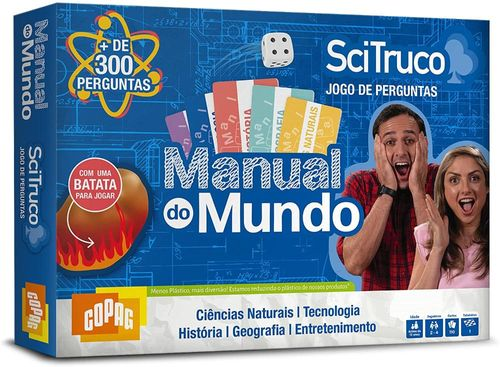 JOGO MANUAL DO MUNDO SCI TRUCO 98466