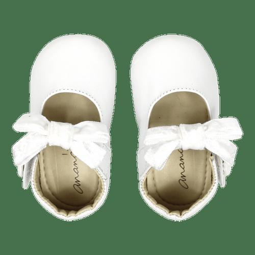 Sapato Ananás Bebe Beth Branco