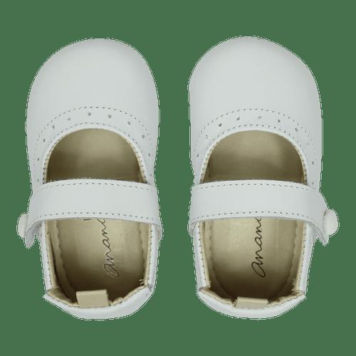 Sapato Ananás Bebe Olympia Branco