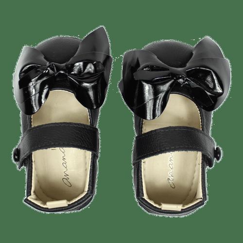 Sapato Ananás Bebe Gigi Preto