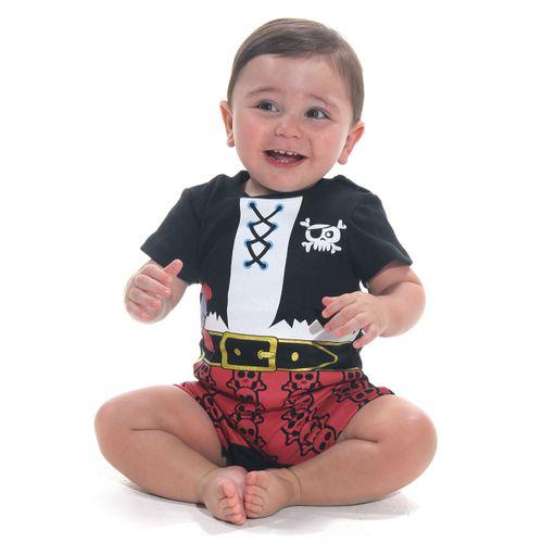 Body Macaquinho Bebê Pirata